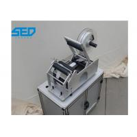 China Semi Automatic Bottle Label Applicator High Precision For Round Bottles on sale
