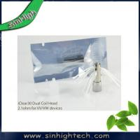 Wholesale Bilstar new desgin itaste ecigars i clear 30 dual coil head from china suppliers
