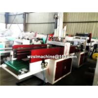China High Speed Double Servo Motors shopping bag making machine With PLC control on sale