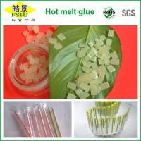 Wholesale EVA Hot Melt Packaging Light Yellow Granule , Beverage Drink Packaging Adhesive Glue from china suppliers