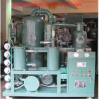 Wholesale 2 stage vacuum Transformer oil regeneration and oil purification Plant/ oil treatment/ oil purifier from china suppliers