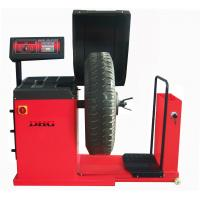China Digital Computer Wheel Balancer Machine / Truck Tyre Balancing Machine 150kg on sale