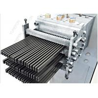 China PA66GF25 PVC Profile Extrusion Line , Polyamide Nylon Strips Extruder For Thermal Barrier on sale