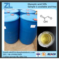 glyoxylic acid 50% for hair treatment,CAS NO.:298-12-4
