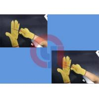 Light Weight Aramid Fiber Gloves / Cut Proof Gloves For Armed Police Operation for sale