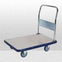 Wholesale Galvanized Platform Cart with Fixed Handle and 350kg Capacity from china suppliers