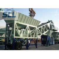 Wholesale Wet Mix Mobile Concrete Batching Plant Computer Control 35m3/H Capacity from china suppliers