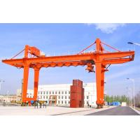 Wholesale Customized Shipping Container Crane RMG Mobile Traveling Quayside Gantry Crane from china suppliers