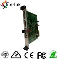 Wholesale 10G SFP+ Port Dvi To Ethernet Converter 5U Rack Card Type 4K 3840*2160/60P from china suppliers