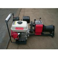 1 Ton Load Capacity Compact Gasoline Engine Cable Pulling Winches Puller For Cranes