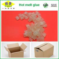 Quality Rubber Hot Melt Glue Packaging Granule ,  Packing Box Adhesive Non Toxic for sale