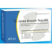Wholesale Children aged people H. Pylori carbon 13 urea breath test , h pylori test kit from china suppliers