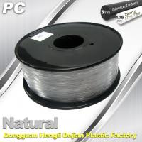 Wholesale PC Filament 3D Printing Material Strength Resist Ultraviolet Rays from china suppliers