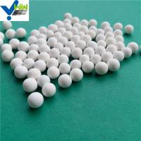 China High density alumina ceramic catalyst support ball for chemical tower on sale