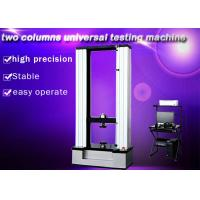 Wholesale Two Columns Universal Testing Machine , 50KN Textile Testing Machine Computer Control from china suppliers