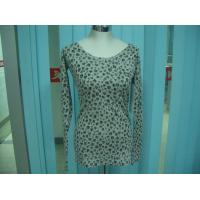 Wholesale Cotton Blends Ribbed Fashion Pullover Sweaters For Young Girls Full Stars Printing from china suppliers