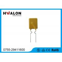 Buy cheap 7.4mm PPTC Thermistor , PPTC resistor Resettable thermal fuse camera power supply from Wholesalers