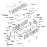 standard shipping container parts