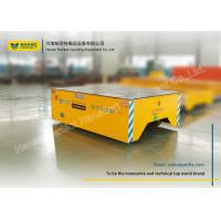 Wholesale Foundry Plant Material Handling Trolley / Motorized Rail Cart On Epoxy Flooring from china suppliers