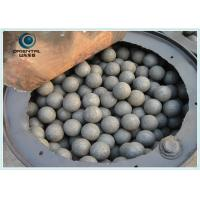 Wholesale B2 Material Dia 60mm Forged Grinding Ball Mining , Ball Mill Steel Balls from china suppliers