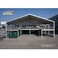 China Glass / ABS Soild Wall Two Storey Tent Outdoor Event Tents 204X120X4mm on sale