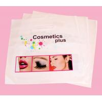 China custom printed eco LDPE plastic shopping cosmetic bags wholesale production on sale