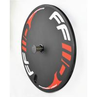 Wholesale 700c TT Triathlon Time Trial Disc Wheel Clincher 23mm Width Rims Road Track Bike from china suppliers