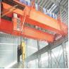 Buy cheap double girder 32t lifting overhead bridge crane from wholesalers