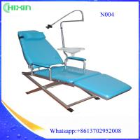 Buy cheap comfortable folding dental chair  Portable dental unit with simple operation from wholesalers