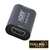 Buy cheap HDMI factory 4Kx2K@60Hz up to 40m HDMI Repeater 4Kx2K@60Hz  28X13X51mm from Wholesalers