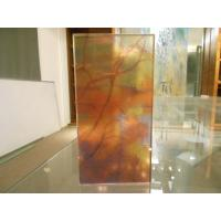 Wholesale Laminated Digital Printed Glass / Decorative Colored Glass For Light Box from china suppliers
