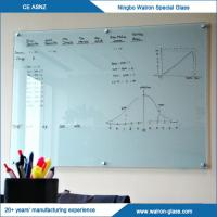 Buy cheap Painted/Printed Frosted Toughened Glass Whiteboard from wholesalers