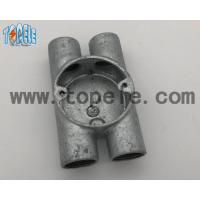 Wholesale BS4568 Electrical Conduit Fittings Twin Through Way H Malleable Iron Box 20mm -32mm from china suppliers