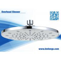 Wholesale Wall Mounted Round White Thunderhead Overhead Rain Shower Head from china suppliers