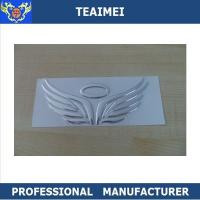 Buy cheap Soft ABS Chrome Custom Car Emblems , Land Rover / VOLVO Automotive Badges from Wholesalers