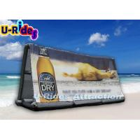Wholesale 6M Long Inflatable Advertising Products , Portable Inflatable Display from china suppliers