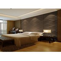 China Wood Texture Aluminium Composite Panel Interior Wall Cladding Sheet on sale