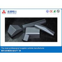 China TBM Tungsten Carbide Shield Cutter Tips high impact toughness tungsten carbide bits on sale