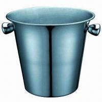 Wholesale Stainless Steel Ice Bucket with 2800ml Capacity from china suppliers