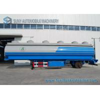 Wholesale Transportation 48000L Q345 Mild Steel Oil Tank Trailer 3 Axle from china suppliers