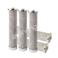 Wholesale SS 304 Silver Hydraulic Oil Filter Element High Temperature Resistant from china suppliers