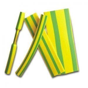 China Green Yellow Heat Shrinking Sleeve on sale