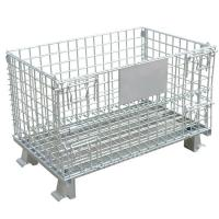 Wholesale Steel Wire Mesh Storage Cages Welded Wire Firm Structure For Logistics from china suppliers