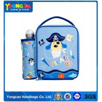 New Arrival Export Quality Classical blue polyester eco-friednly PEVA lining kids Lunch cooler Bag Wholesale