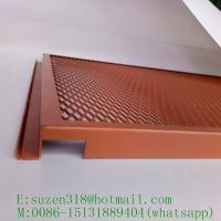 China powder coated aluminum expanded metal for interior ceiling design on sale