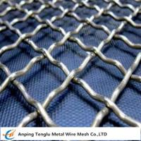 Crimped Wire Mesh Screen by Stainless Steel Durable Coarse Screening Material
