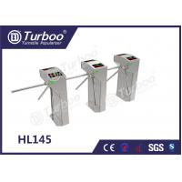 Wholesale Custom Semi - Auto RFID Access Control Turnstile Gate , Waist High Turnstile from china suppliers