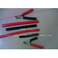 Wholesale Red / Black Plastic Flexible Hose For Alligator Clip , Wire Harnesses , Transformers from china suppliers
