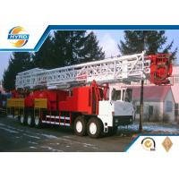 China Rotary Drilling Equipment Truck Mounted Workover Oil Rig 100t With API Standard on sale