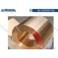 China Copper And Tin Qsn8 - 0.3 Bronze Alloy Foils for Anti - abrasion Devices on sale